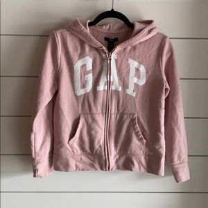 Girls GAP zip up hoodie
